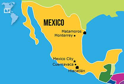Mapa Hogares NPH Mexico