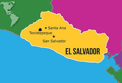 Mapa Hogares NPH El Salvador