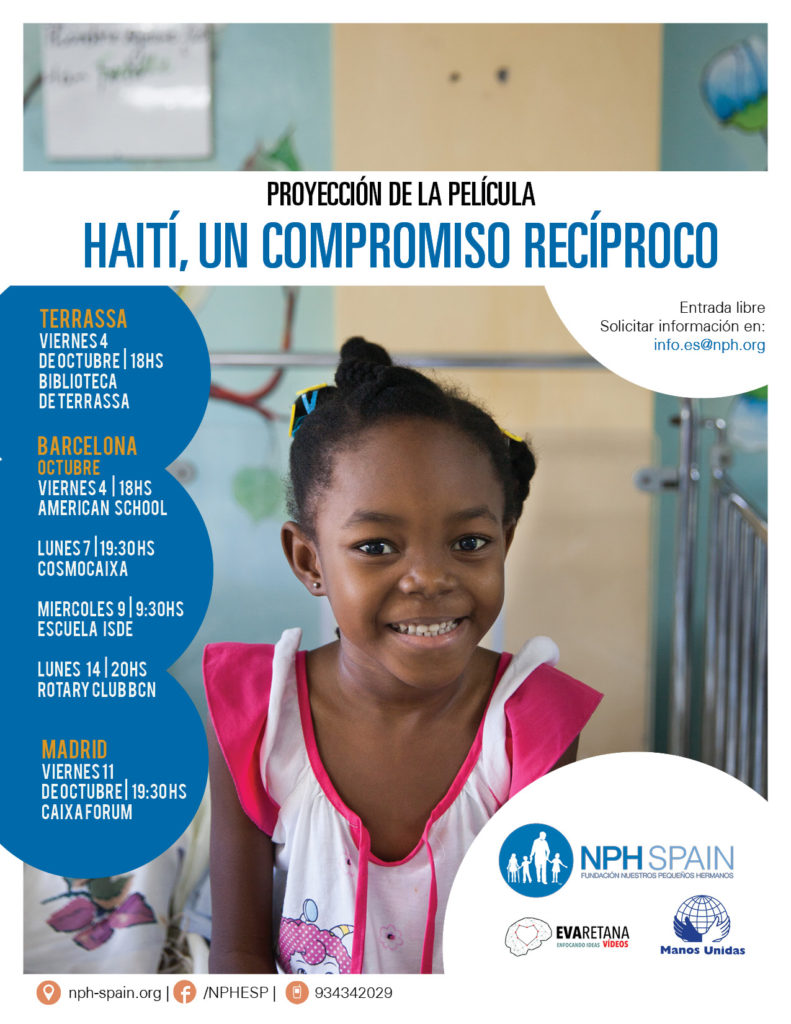 Documental sobre Haiti en Barcelona y Madrid | NPH Spain