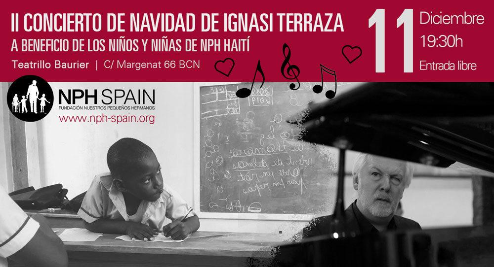Concierto navideño para los niños de Haiti   NPH