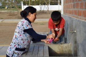 Lavado de manos NPH Peru | Salud NPH