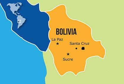 Mapa Hogares NPH Bolivia