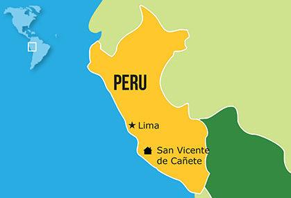 Mapa Hogares NPH Perú