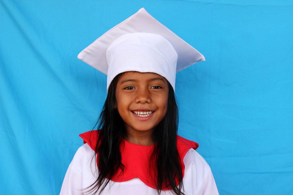Joven estudiante en NPH Honduras