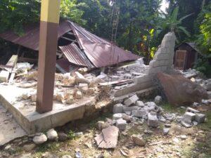 Casa de familia de Jean Max destrozada